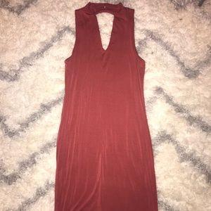 sexy mauve dress